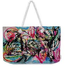 Gesture Weekender Tote Bag by Adria Trail