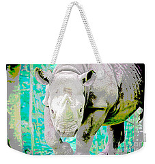 Weekender Tote Bag featuring the painting Get Back Edition 2 by Judy Kay