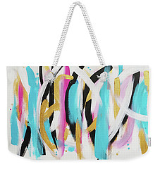 Get In Line 1 Weekender Tote Bag