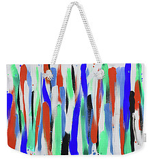 Get In Line 4 Weekender Tote Bag
