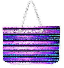 Get In Line And Settle Down Weekender Tote Bag