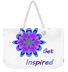 Get Inspired Weekender Tote Bag