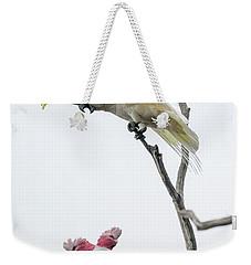 Get Off My Perch Weekender Tote Bag