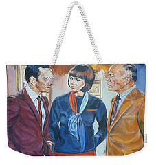 Get Smart Weekender Tote Bag