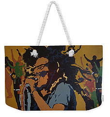 Get Up Stand Up Weekender Tote Bag