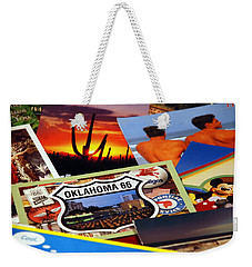 Get Your Kicks... Weekender Tote Bag