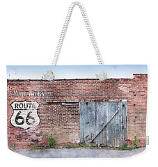 Weekender Tote Bag featuring the digital art Get Your Kicks by Sandy MacGowan