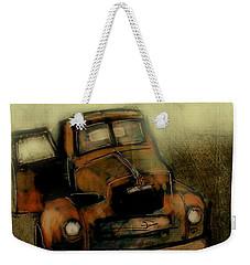 Getaway Truck Weekender Tote Bag by Jim Vance