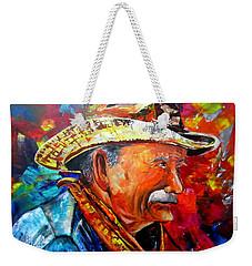 Gettin' On Weekender Tote Bag