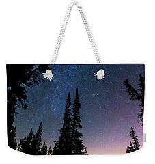 Weekender Tote Bag featuring the photograph Getting Lost In A Night Sky by James BO Insogna