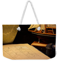 Getting Ready Weekender Tote Bag