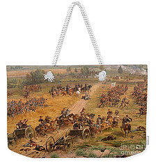 Gettysburg Cyclorama Detail Two Weekender Tote Bag