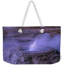 Geyser Cone, Iceland Weekender Tote Bag