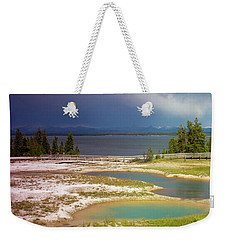 Geysers Pools Weekender Tote Bag by Dawn Romine