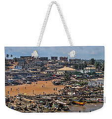 Weekender Tote Bag featuring the photograph Ghana Africa by David Gleeson