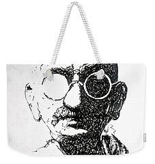 Ghandi Weekender Tote Bag
