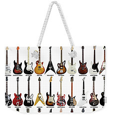 Guitar Legends Weekender Tote Bag