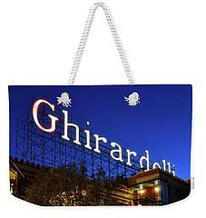 Ghirardelli Square Weekender Tote Bag by James Kirkikis