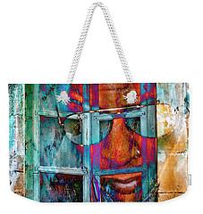Ghost Goes Through Wall Weekender Tote Bag