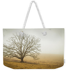 Tree In Fog - Blue Ridge Parkway Weekender Tote Bag