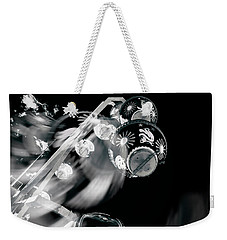 Weekender Tote Bag featuring the photograph Ghost In The Machine by Wayne Sherriff