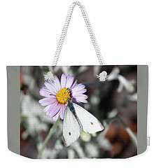 Ghost Moth In Pastel Weekender Tote Bag