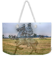 Ghost Of Gettysburg Weekender Tote Bag