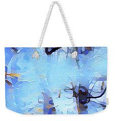 Ghost Of Snow Weekender Tote Bag by Gayle Price Thomas