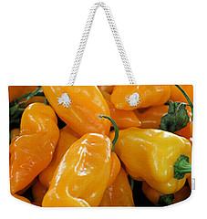 Ghost Peppers Weekender Tote Bag by Kristin Elmquist