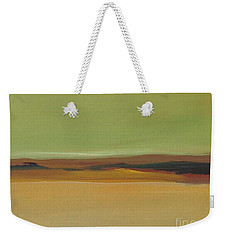 Weekender Tote Bag featuring the painting Ghost Ranch by Michelle Abrams