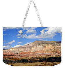 Weekender Tote Bag featuring the photograph Ghost Ranch New Mexico by Kurt Van Wagner