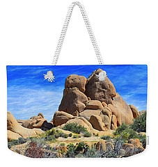 Weekender Tote Bag featuring the photograph Ghost Rock - Joshua Tree National Park by Glenn McCarthy Art and Photography