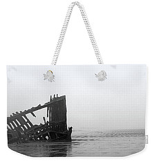 Ghost Ship Weekender Tote Bag by Joseph Skompski