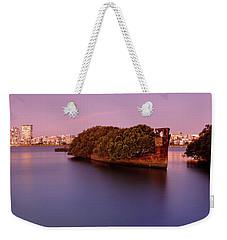 Ghost Ship Weekender Tote Bag