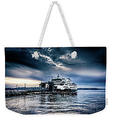 Weekender Tote Bag featuring the photograph Ghost Ship by Spencer McDonald