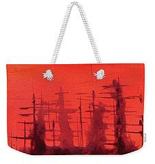 Ghost Ships Weekender Tote Bag