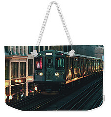 Ghost Train Weekender Tote Bag