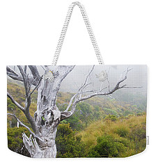 Weekender Tote Bag featuring the photograph Ghost by Werner Padarin