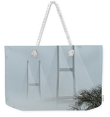 Ghostly Cool Weekender Tote Bag