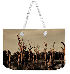 Weekender Tote Bag featuring the photograph Ghostly Trees V2 by Douglas Barnard
