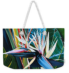Giant Bird Of Paradise Weekender Tote Bag by Marionette Taboniar