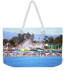 Life Is Like A Rollercoaster Weekender Tote Bag
