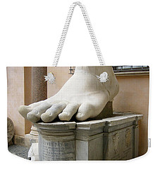 Giant Foot Weekender Tote Bag