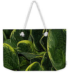 Giant Hosta Closeup Weekender Tote Bag