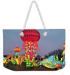 Giant Illuminate Jelly Fish Weekender Tote Bag
