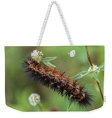 Giant Leopard Moth Caterpillar Weekender Tote Bag