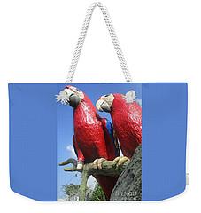 Giant Macaws Weekender Tote Bag by Randall Weidner