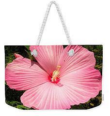 Giant Pink Hibiscus Weekender Tote Bag