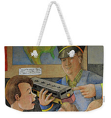 Giant Shows The Toy Train Weekender Tote Bag