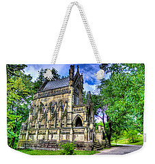 Giant Spring Grove Mausoleum Weekender Tote Bag by Jonny D
